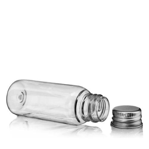 """30ml bouteille PET """"Pegasus"""" bouchon fileté aluminium"""