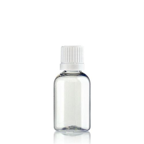 """30ml PET-Flasche-klar """"Easy Living"""" mit Originalitätsverschl."""