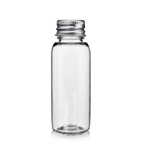 "30ml PET-flaske ""Pegasus"" aluminium"