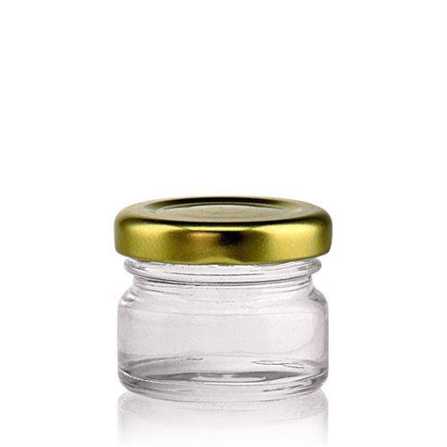 30ml Rundglas mit Twist Off 43