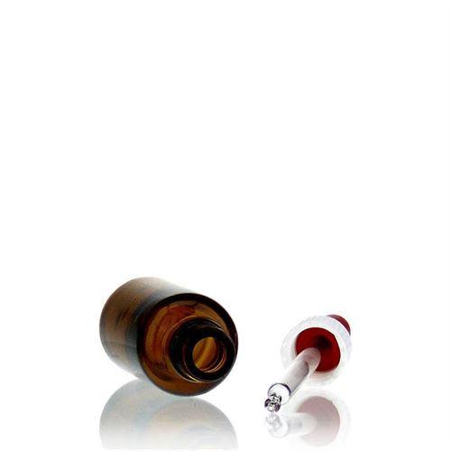 30ml brun medicinflaske, med pipette