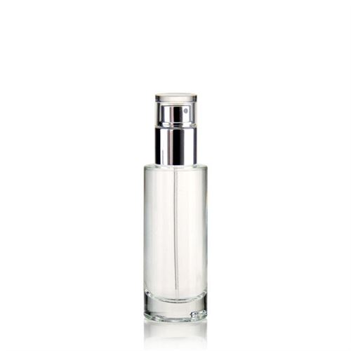 "30ml clear glass bottle ""Jasmina"""