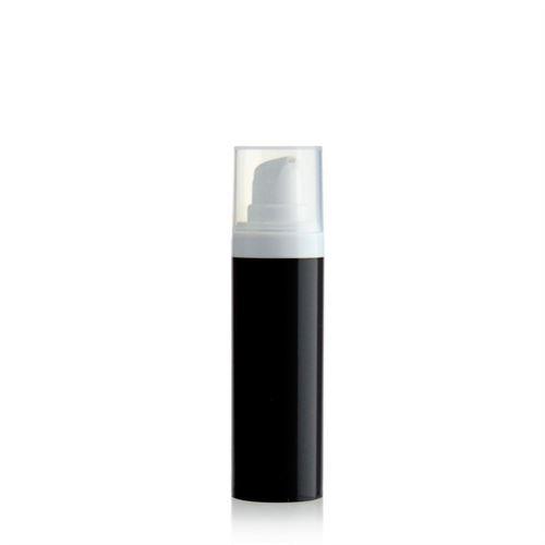 "30ml dispenser ""Airless"" MICRO black/white"