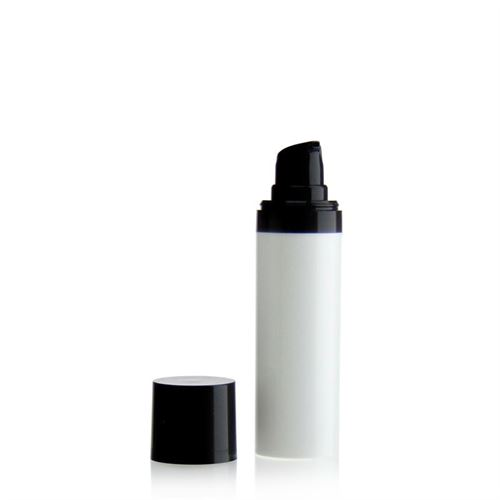30ml Airless Dispenser MICRO white/black