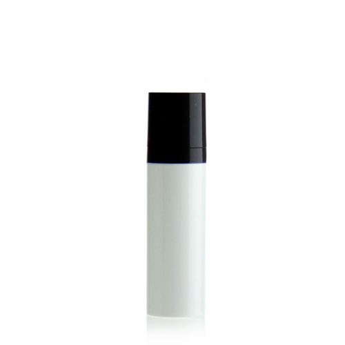 30ml airless pump MICRO white/black