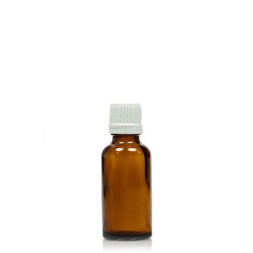30ml bruin medicijn flesje met originaliteit sluiting