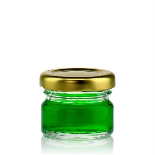 30ml round jar with Twist Off 43