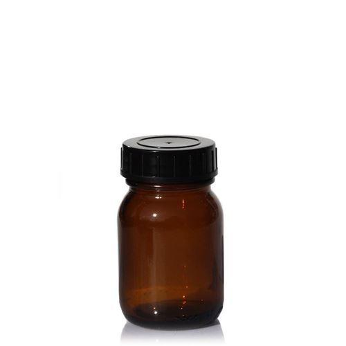 30ml brown wide neck jar