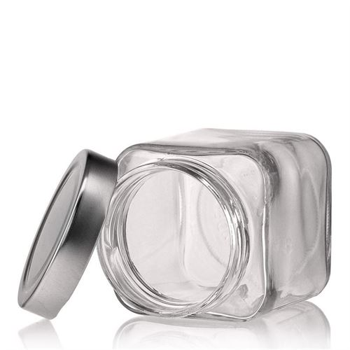 "314ml firkantet designerglas ""Ikarus"""