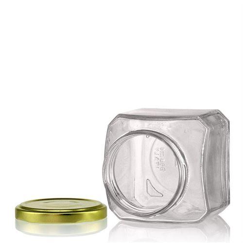 "314ml firkantet designerglas ""Milano"""