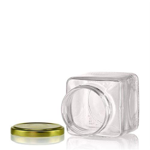 "314ml firkantet designerglas ""Roma"""