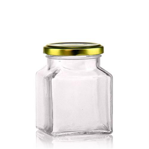 "314ml rechteckiges Designerglas ""Roma"""