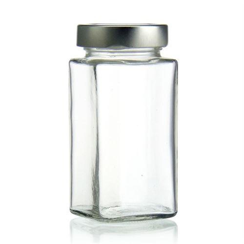 "314ml rectangular design jar ""Funny"""