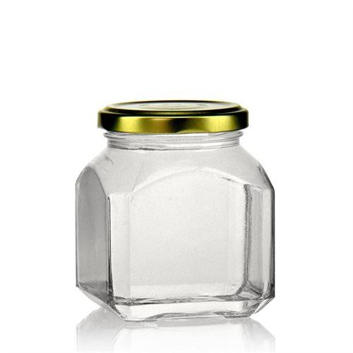 "314ml vasetto in vetro designer rettangolare ""Milano"""
