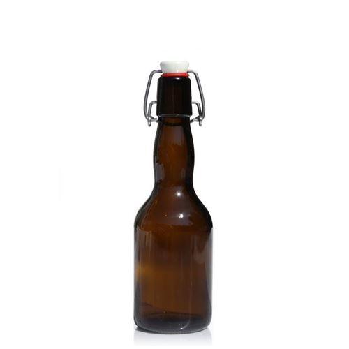 """330ml Bottiglia per birra marrone """"Tradizione"""""""