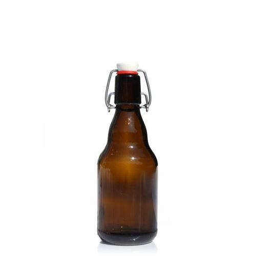 "330ml ølflaske med patentlåg ""Steinie"""