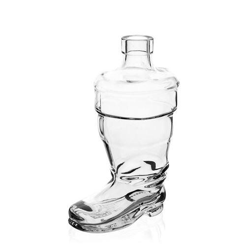 """350ml Klarglasflasche """"Stiefel"""""""