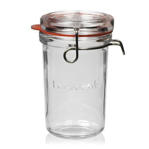 "350ml beugelsluiting glas ""Lock-Eat"""