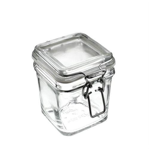 "350ml beugelsluiting glas ""Le Carre"""