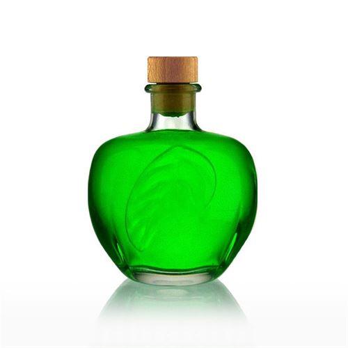 "350ml bouteille verre clair ""Pomme"""