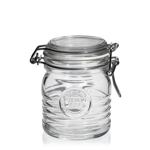 """350ml beugelsluitiing glas """"Bormioli Seria 1825"""""""