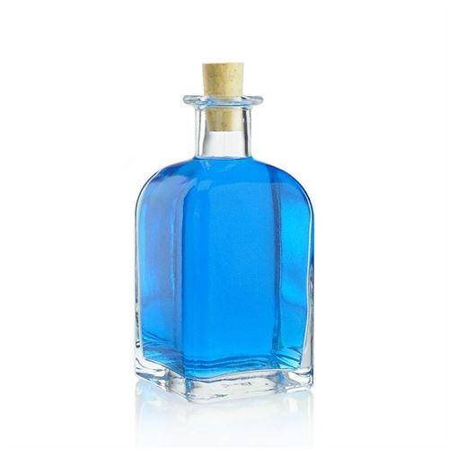 """350ml bouteille verre clair """"Apo Carrée"""""""
