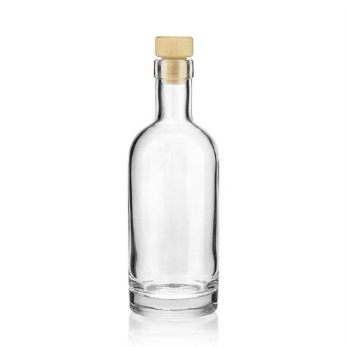 """350ml Bottiglia in vetro chiaro """"Linea uno"""""""