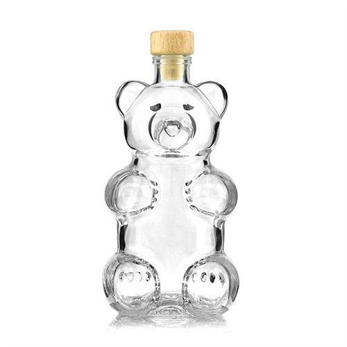 """350ml Klarglasflasche """"Bär"""""""
