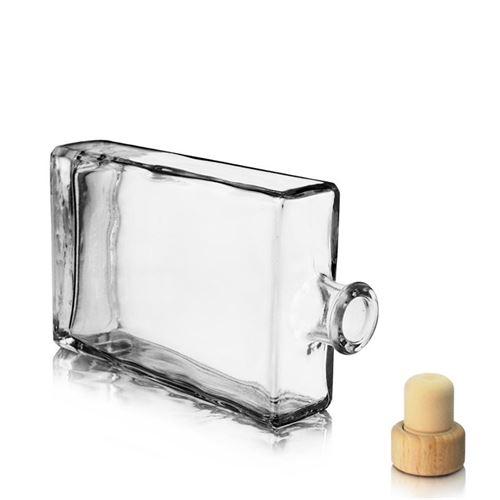 "350ml Klarglasflasche ""Julia"""
