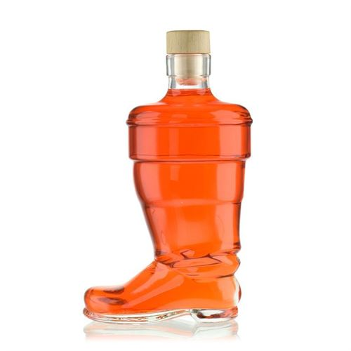 "350ml clear glass bottle ""Boot"""