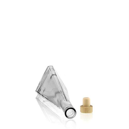 """350ml bouteille en verre clair """"Triangolore"""""""