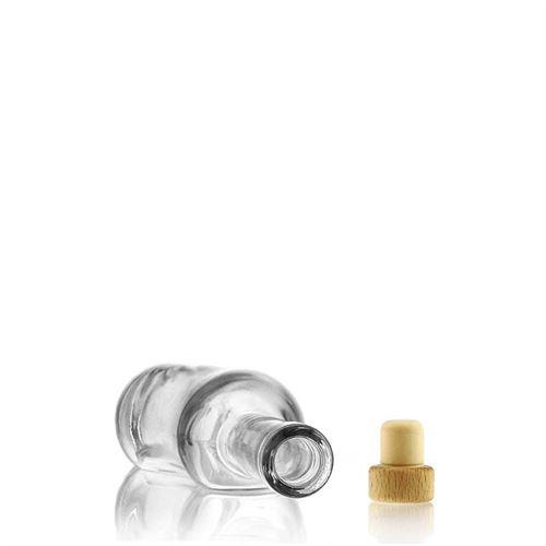 """350ml bouteille verre clair """"La-Ola"""""""