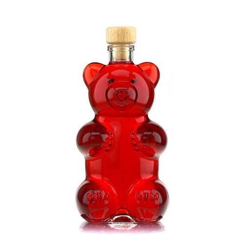"""350ml bouteille verre clair """"Ours"""""""