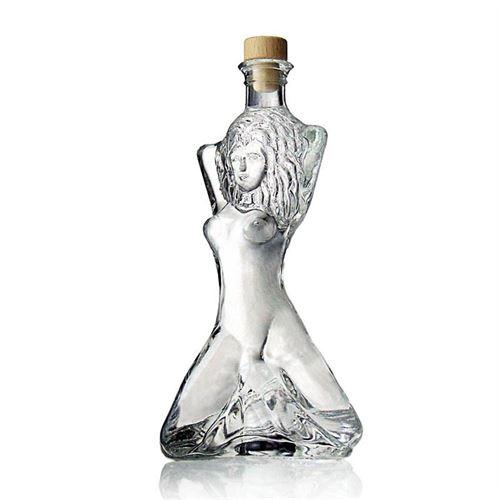 """350ml flaska i klarglas """"Sexig häxa"""""""