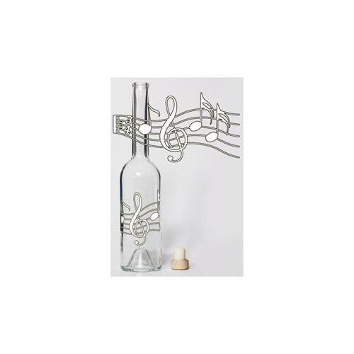 """350ml flaske """"Musiknoder"""""""