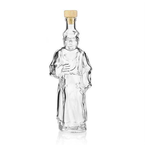 "350ml flaske i klart glas ""Munk"""