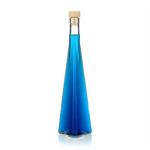 "350ml flaske i klart glas ""Triangolore"""