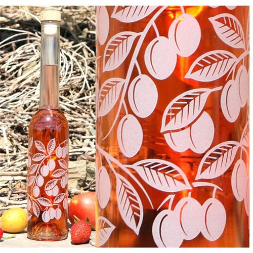 "350ml ""plum"" bottle"