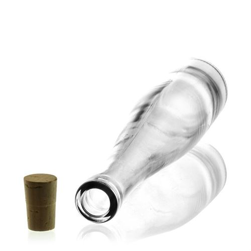 """375ml bouteille verre clair """"Flûte de vin"""""""