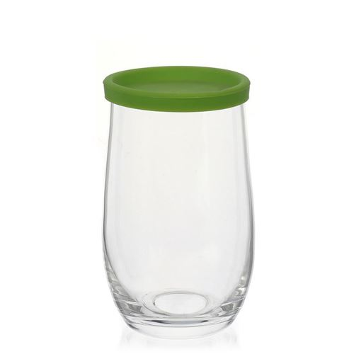 "380ml Trinkglas ""Play of Colours"" grün"