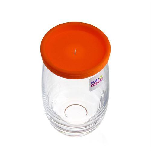 "380ml Trinkglas ""Play of Colours"" orange"