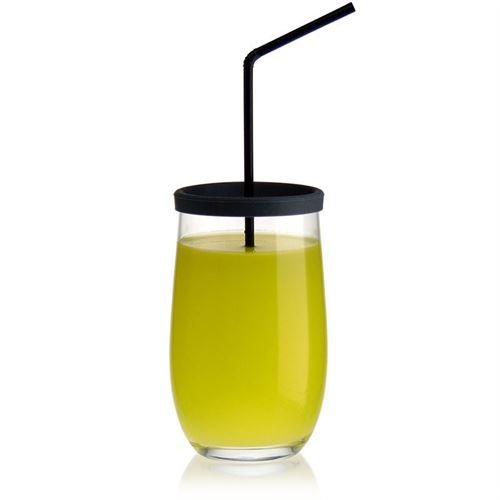"""380ml drinkglas """"Play of Colours"""" grijs"""