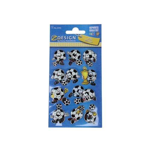 """3D-Klistermærker """"sjove Fodbolde"""""""