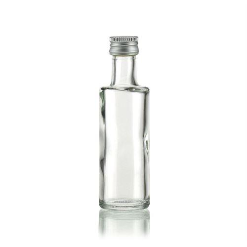 "40ml Bottiglia in vetro trasparente ""Melissa"""