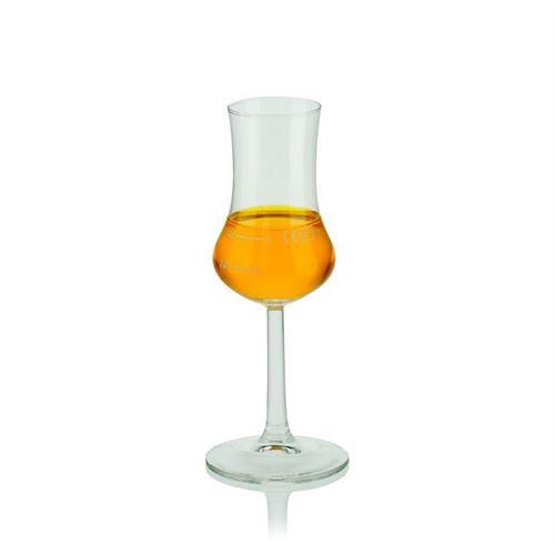 40ml digestief glas met maatstreep 2cl + 4cl