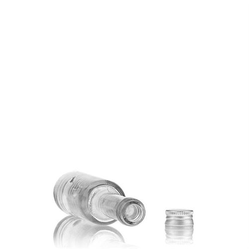 """40ml bouteille avec bouchon à vis """"Platina"""""""