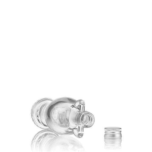"""40ml bouteille verre clair """"Amphore"""""""
