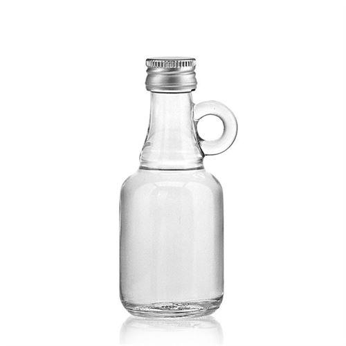 "40ml bouteille verre clair ""Santos"""