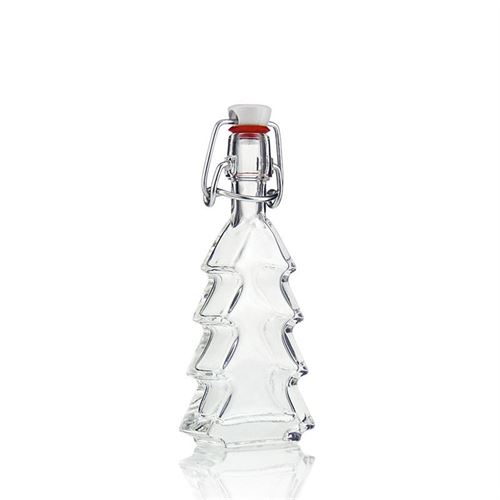 "40ml clear glass bottle ""Christmas Tree"""