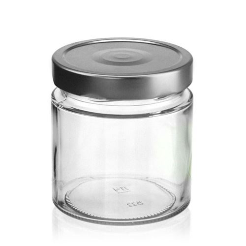 "420ml vasetto rotondo in vetro designer ""Summertime"""